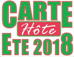 Carte d'hôte 2018