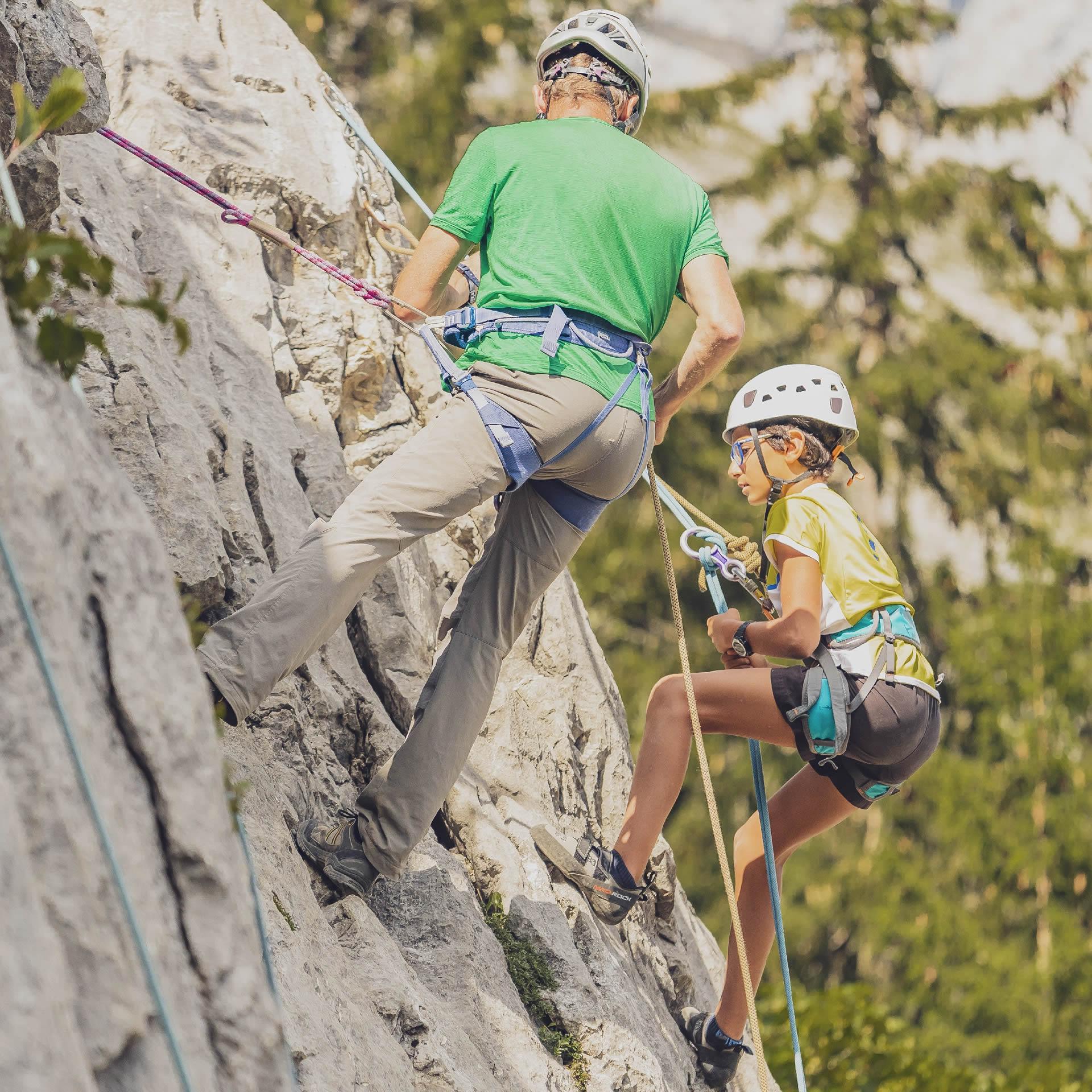 Kletterkurse und geführte Touren