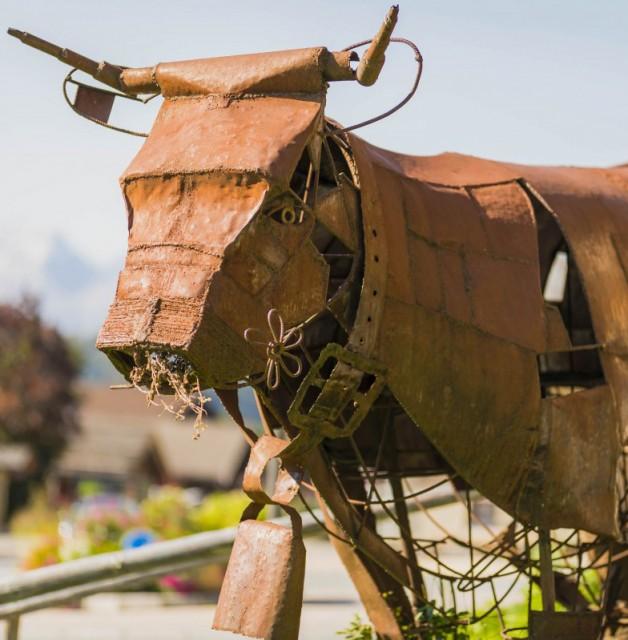 Parcours de l'Art Vache