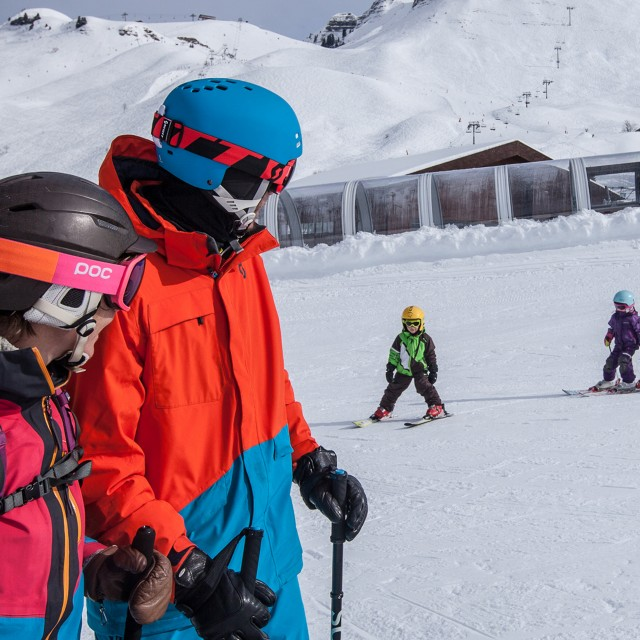 Alpine ski lessons
