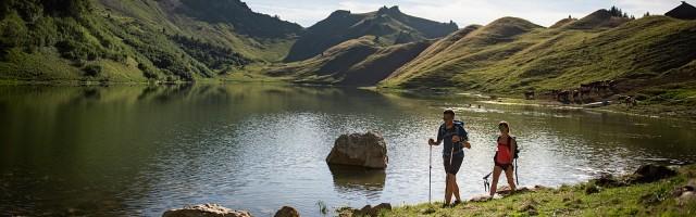 Randonnée au lac de Lessy (Le Grand-Bornand)