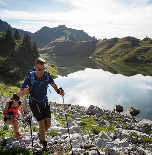 Randonnées guidées lacs et sommets