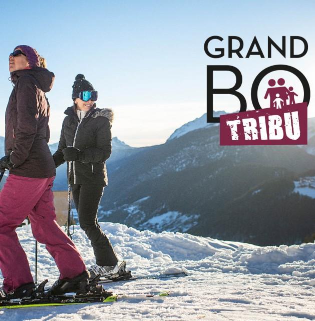 "Forfait ski ""Tribu"""