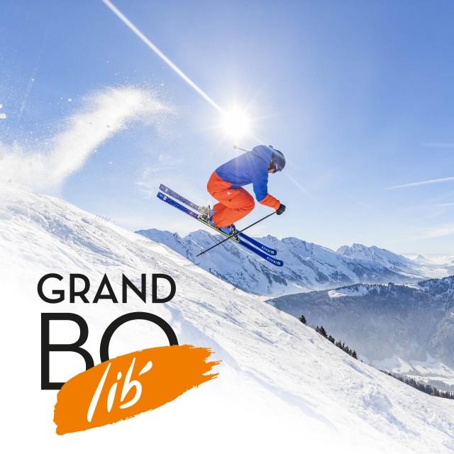 """Forfait ski """"Grand-Bo Lib"""""""