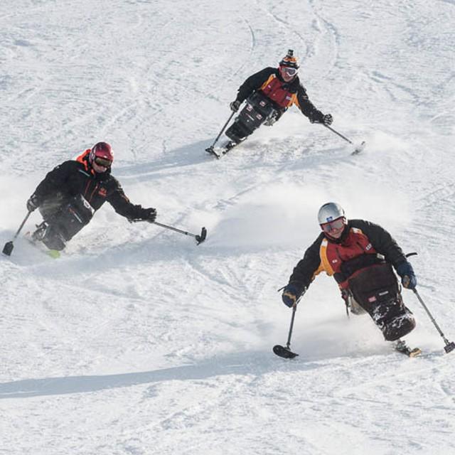 Skifahren mit Behinderung