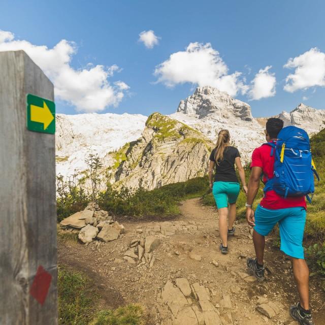 Itinéraires de randonnées pédestres