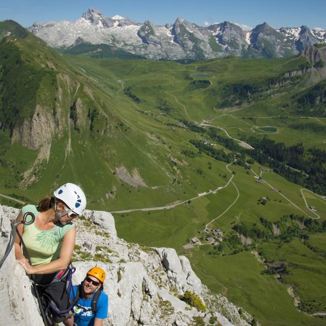 Klettern und Klettersteige