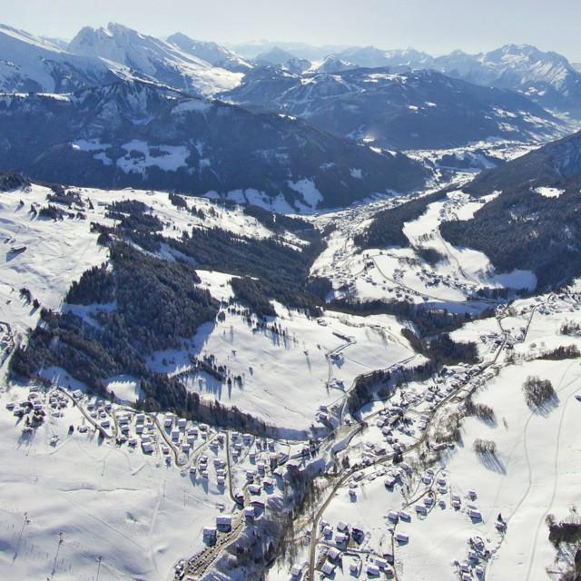 Luftbild 360° Winter
