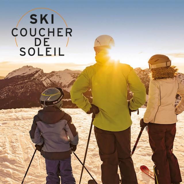 """Forfait """"Ski Coucher de Soleil"""""""