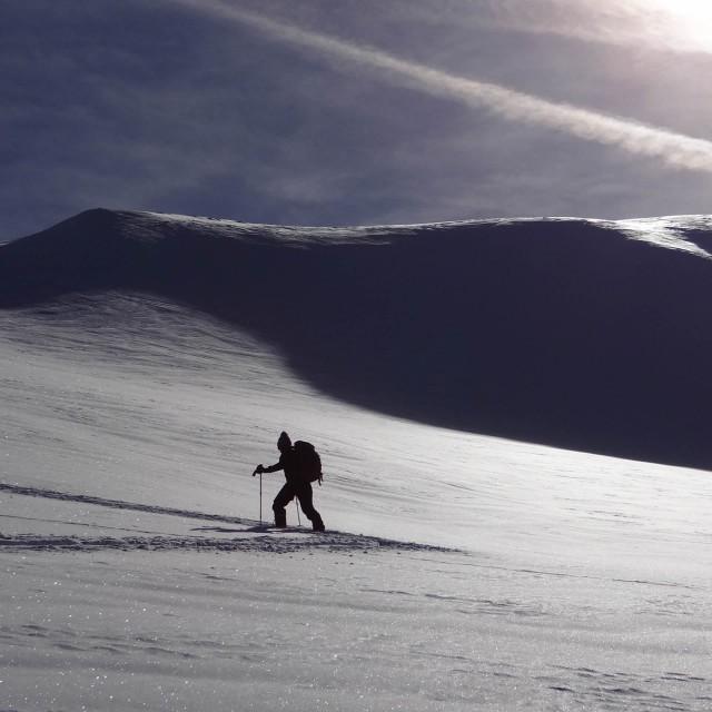 Ski touring routes