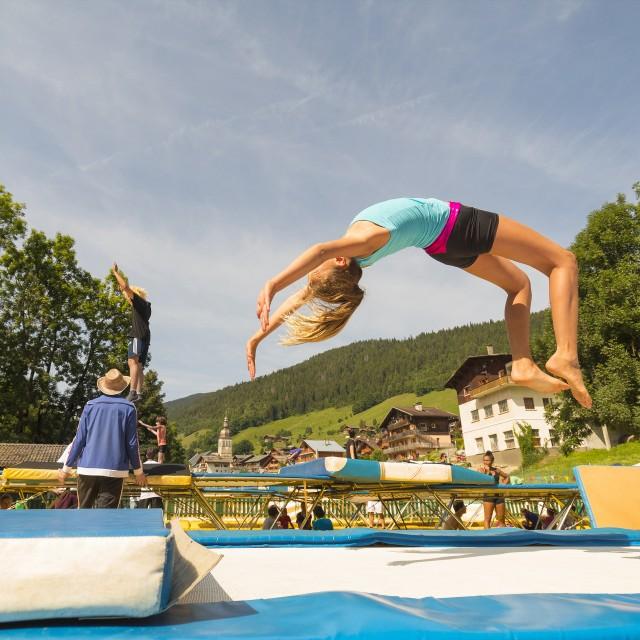 Acrobatic sports