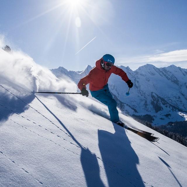 Sur le domaine alpin