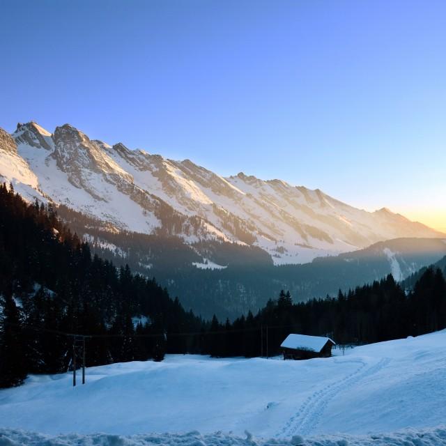 The Bouchet valley