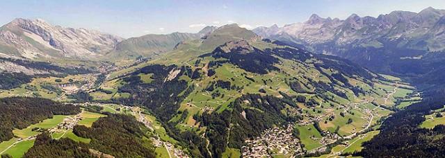 Luftaufnahme 360° Sommer