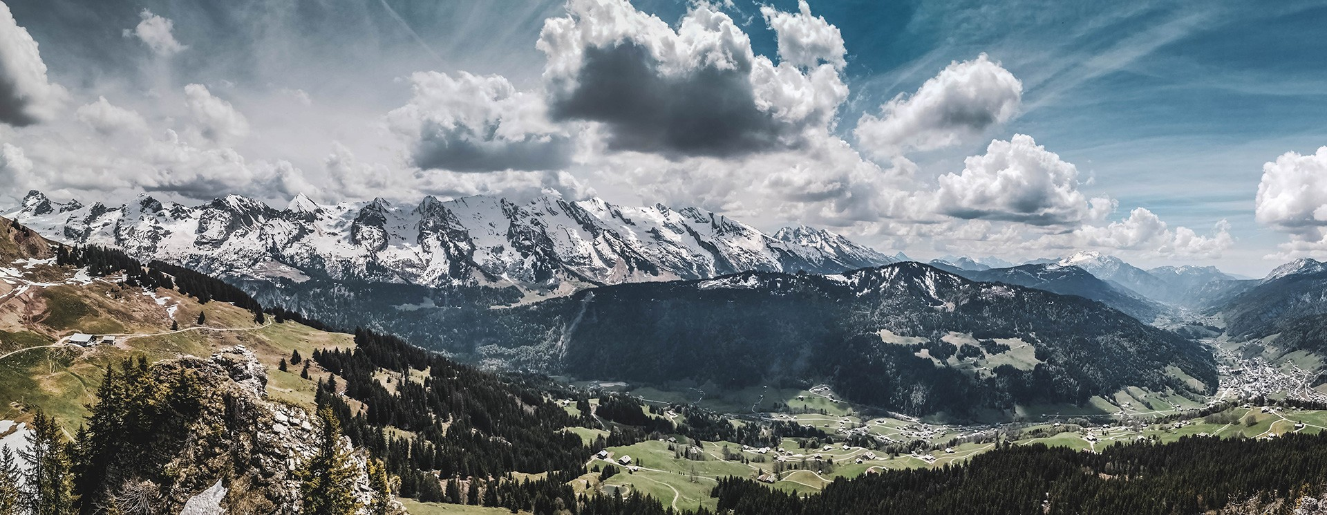 Le Grand-Bornand au printemps