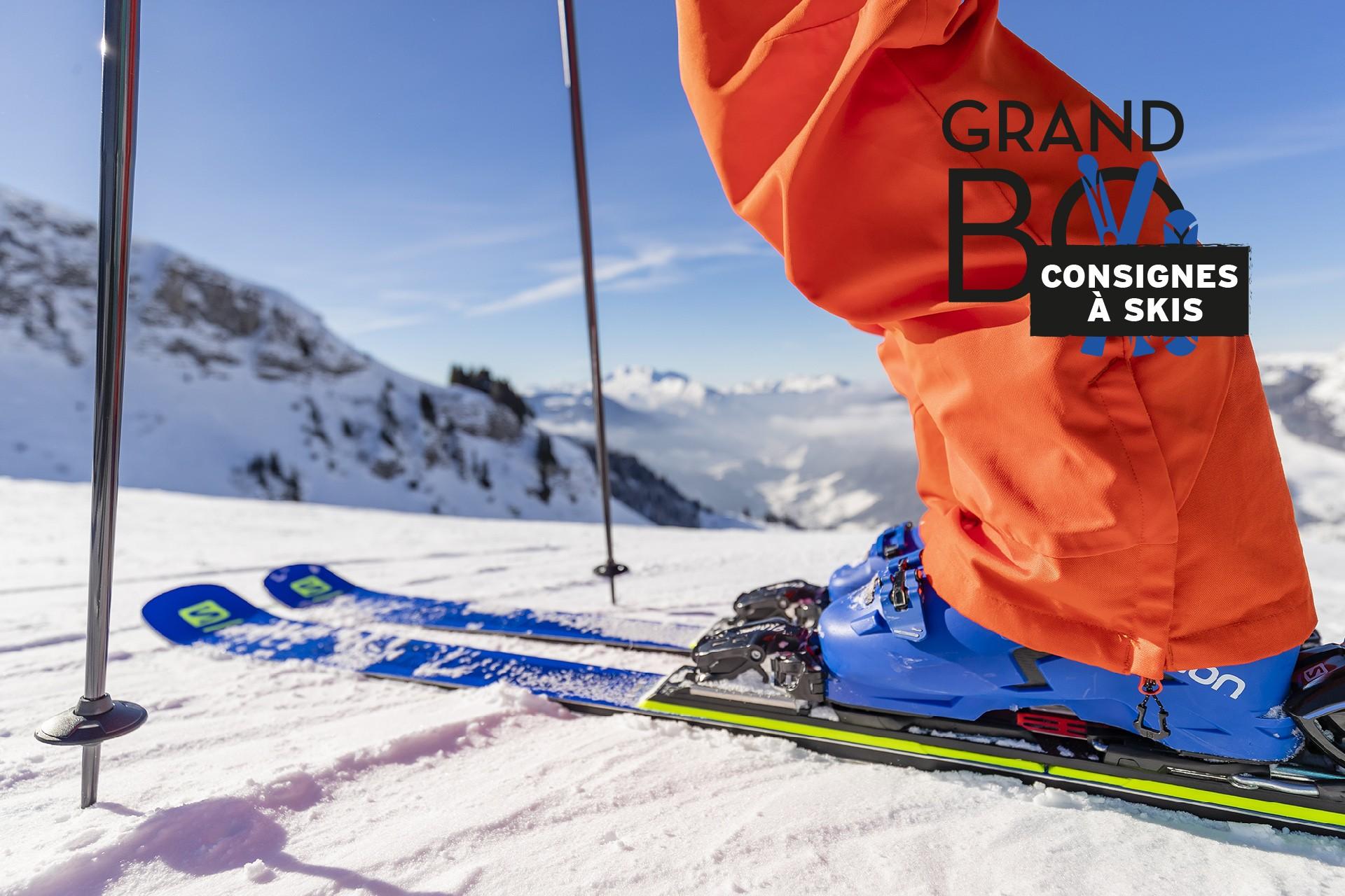 forfait ski,ski,le grand bornand,consignes
