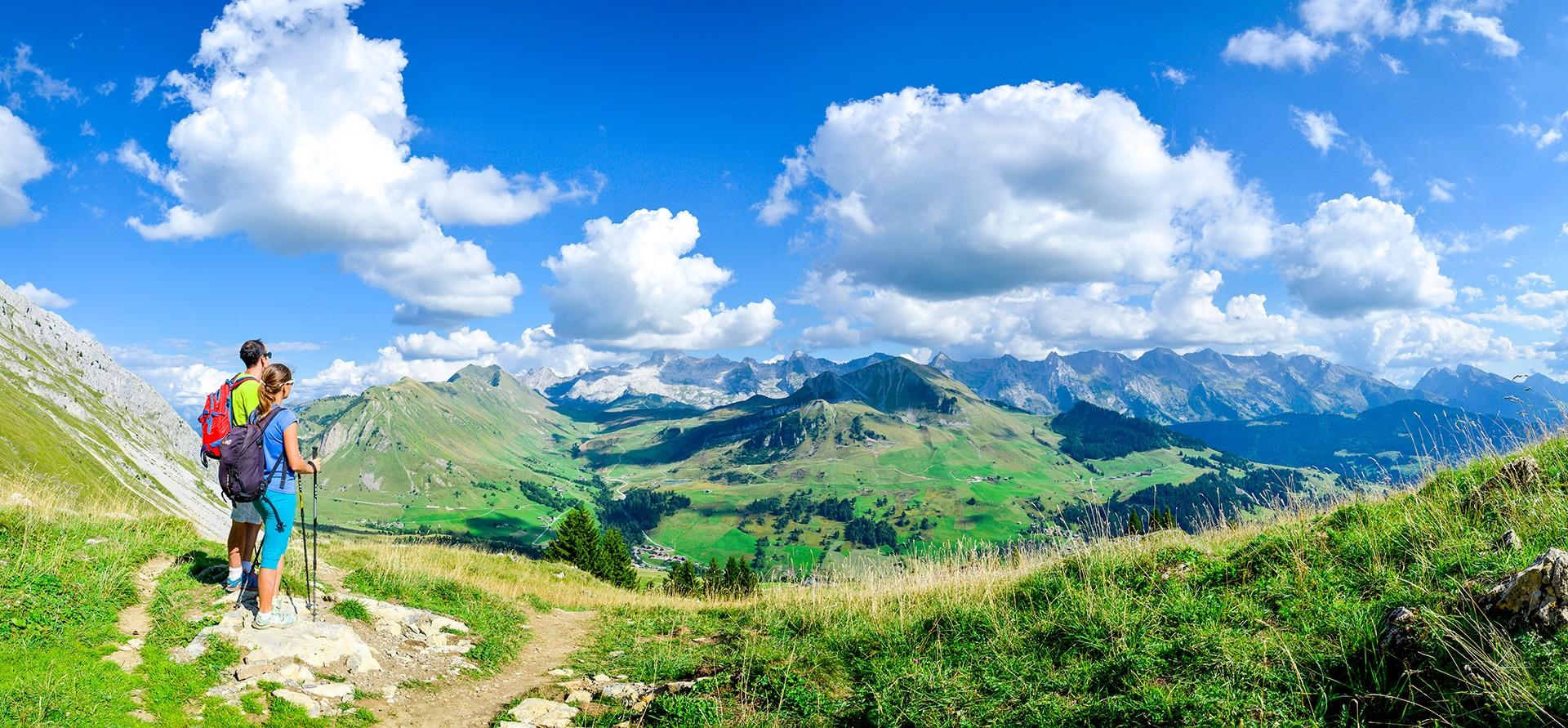 Randonnées au Grand-Bornand