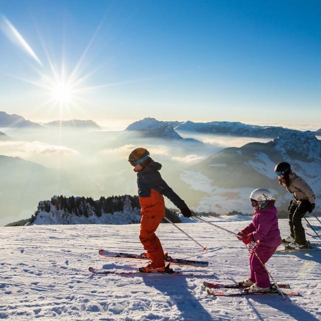 Forfait ski alpin COUCHER DE SOLEIL