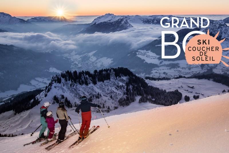 Forfait Ski Coucher de Soleil