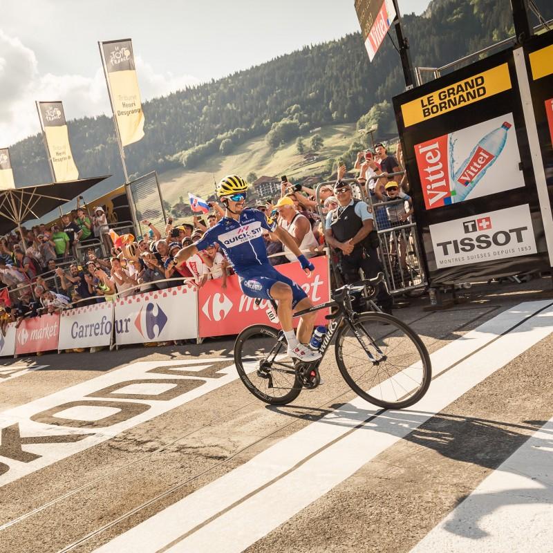 Victoire de Julian Alaphillipe sur la 10e étape du Tour de France