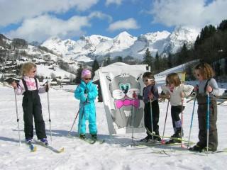 Cours de ski de fond pour les enfants