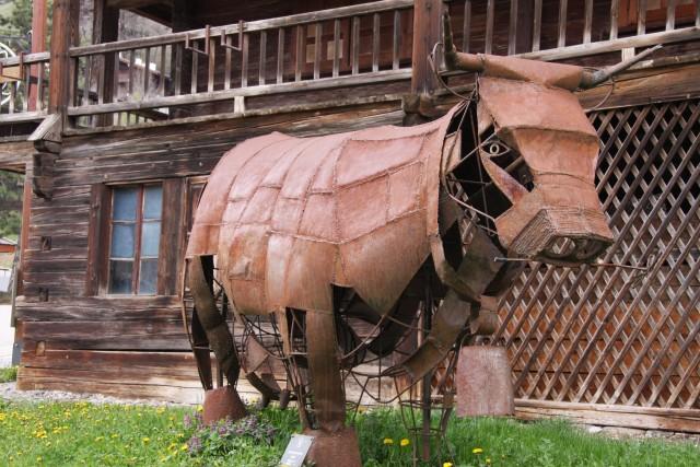 Art vache : la reine de fer