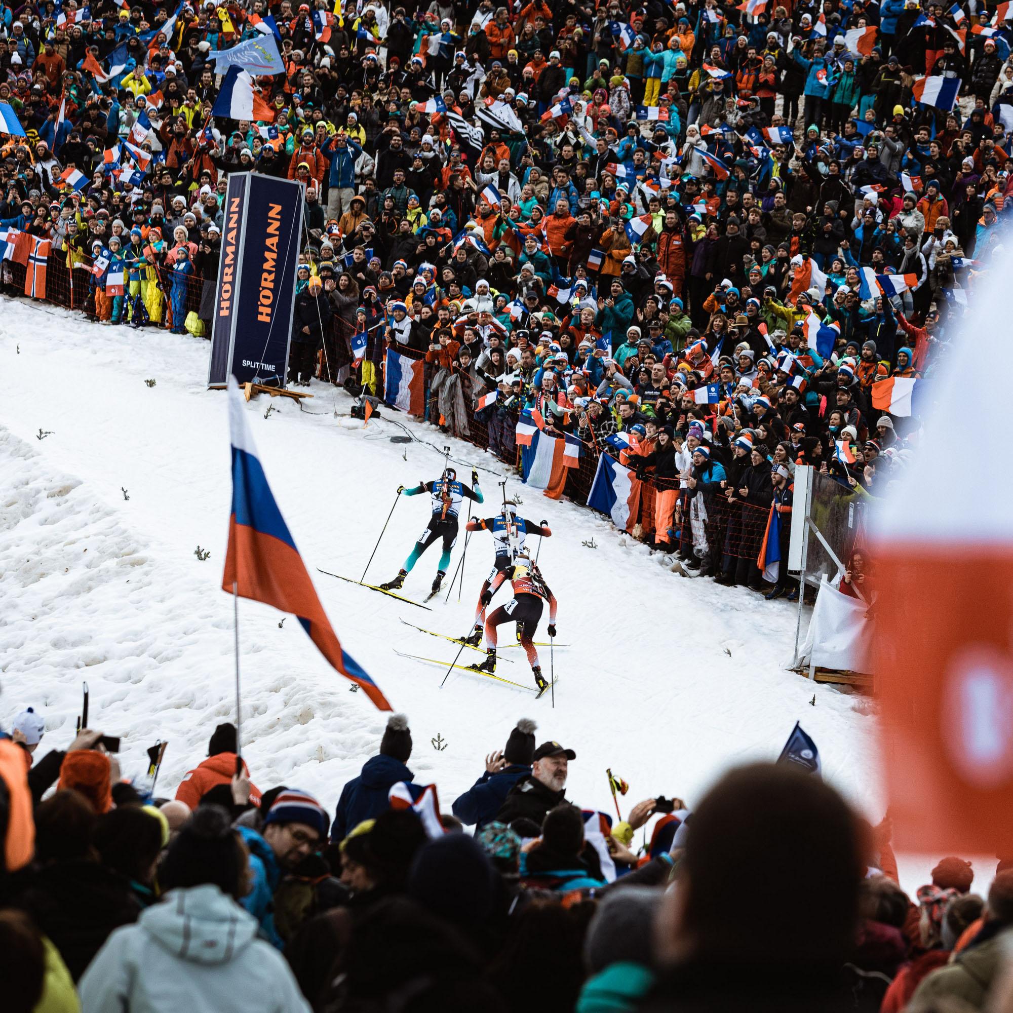 biathlon-grand-bornand-annecy-competitions-c-hudry-aravis-coupedumonde-ibu - © C. Hudry