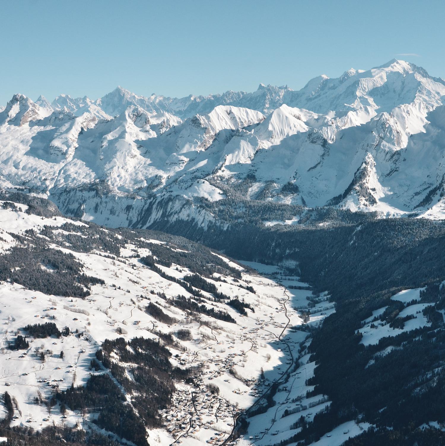 le grand bornand,grand bornand,vallee du bouchet,mont blanc - © © D. Machet