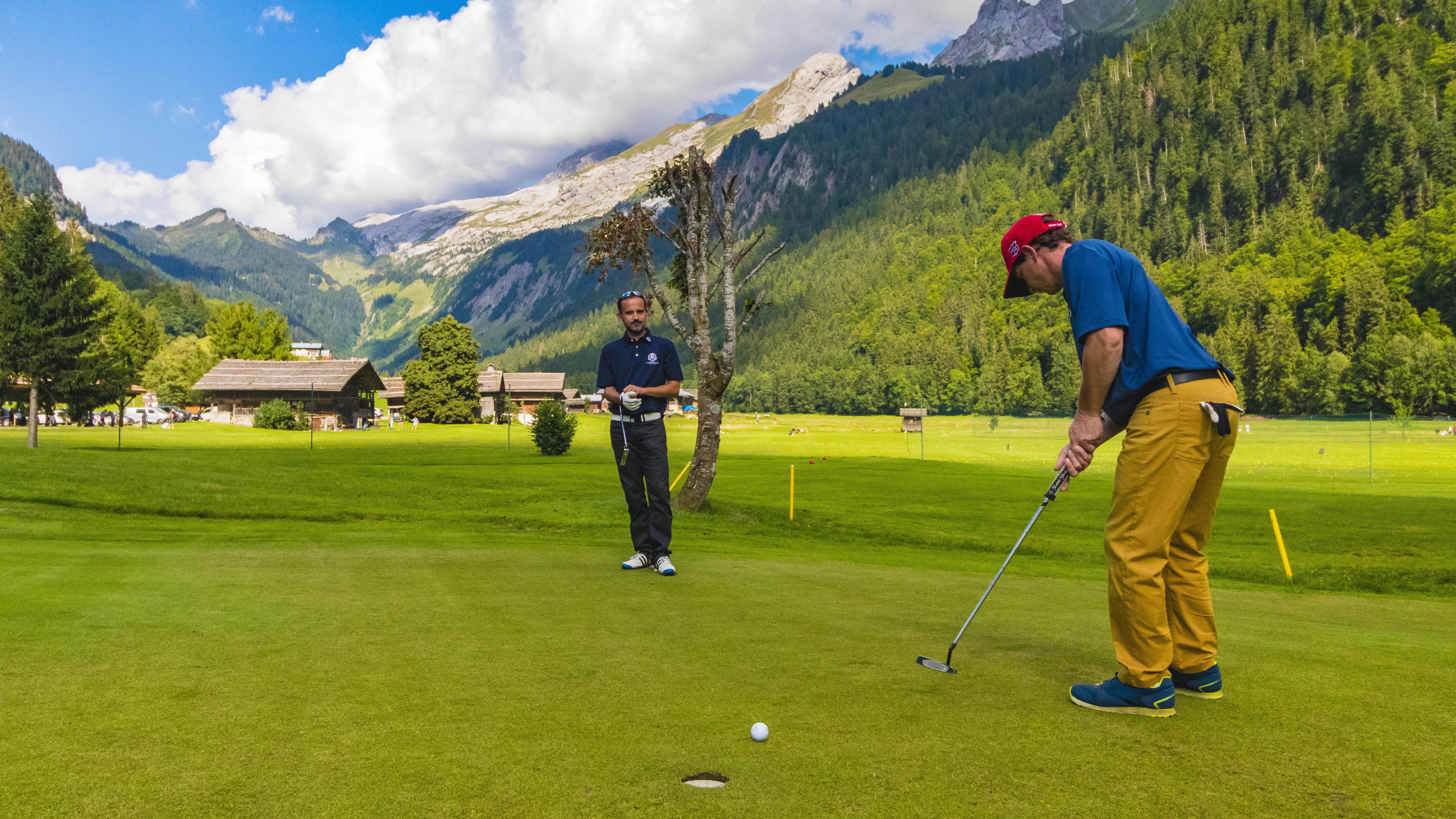 Golf le Rocher Blanc - © © C. Cattin - Alpcat Médias