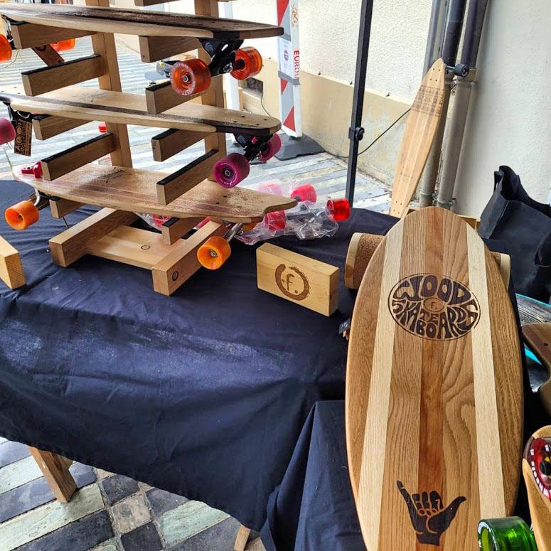 skateboard-bois-creation-legrandbornand - © Woodskateboard