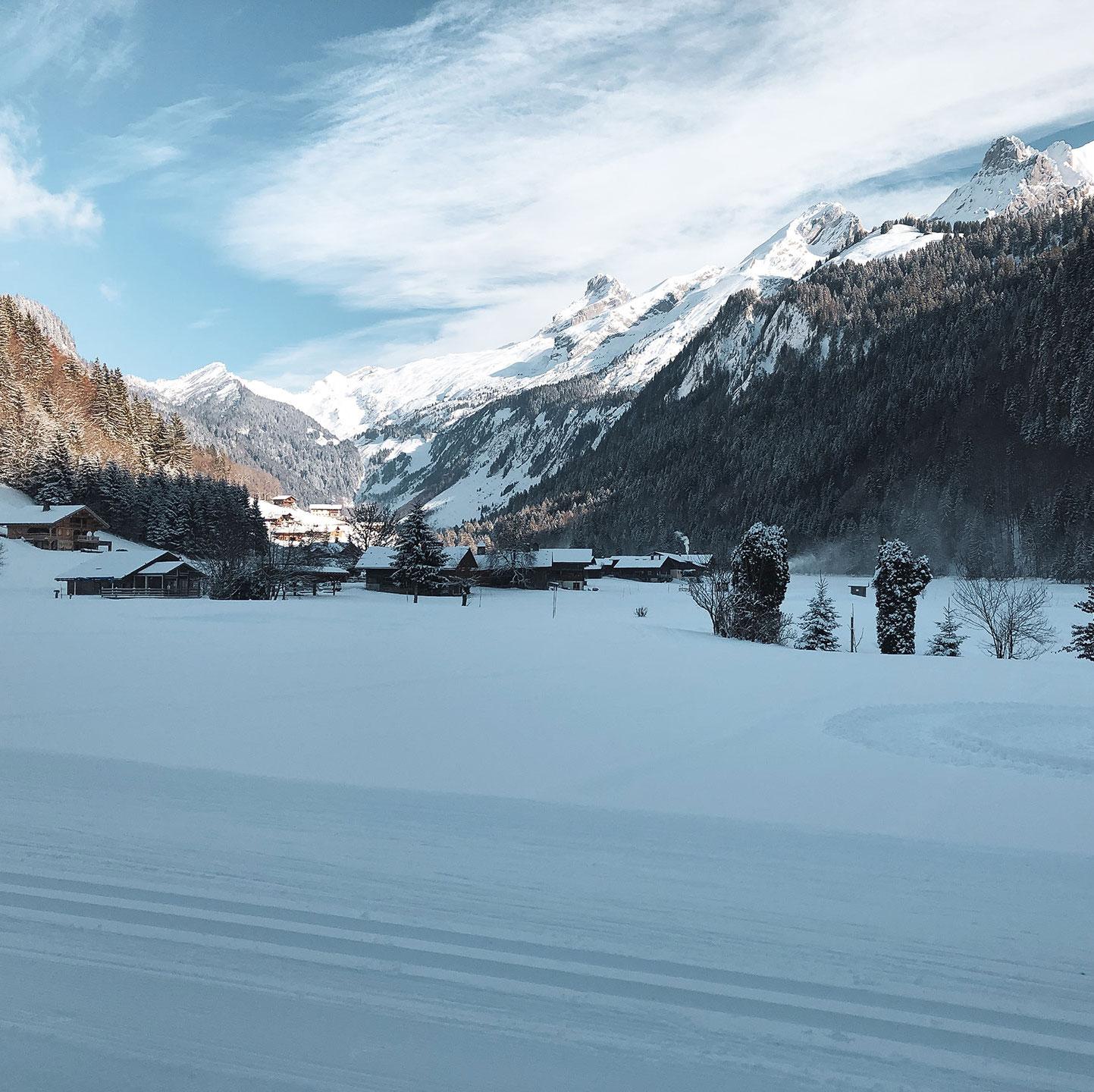ski,le grand bornand,ski de fond - © © T. Debornes