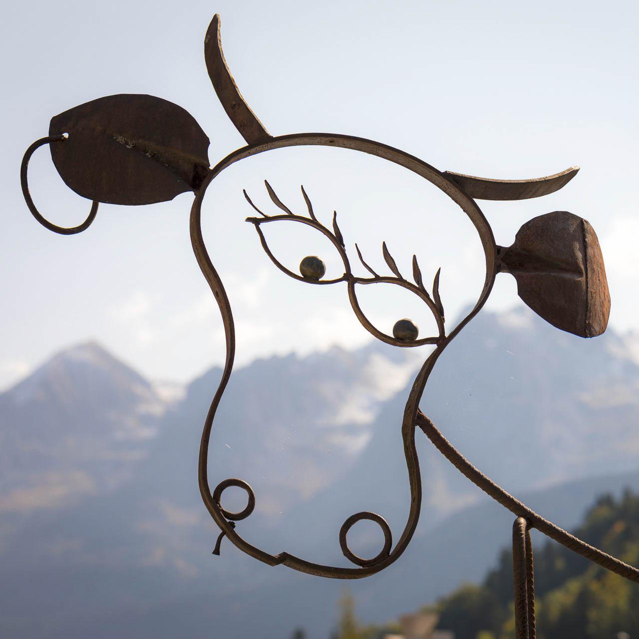 L'art vache au Grand-Bornand - © © C. Cattin - Alpcat Médias