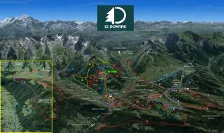 Plan piste Les Confins/Le Grand-Bornand