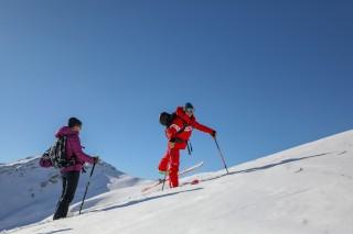 Ma première sortie ski de rando au Grand-Bornand