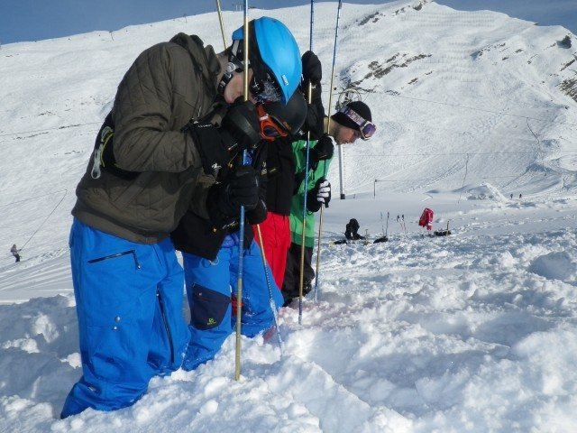 Ski de rando : stage sécurité