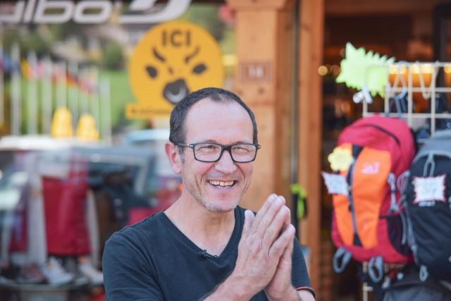 #MONGRANDBO AVEC... Jean-Loup, commerçant au Grand-Bornand