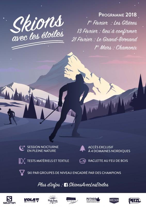 Skions avec les étoiles