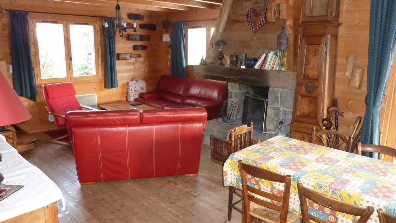 Salon/Lounge-Chalet Hermine-Le Grand-Bornand