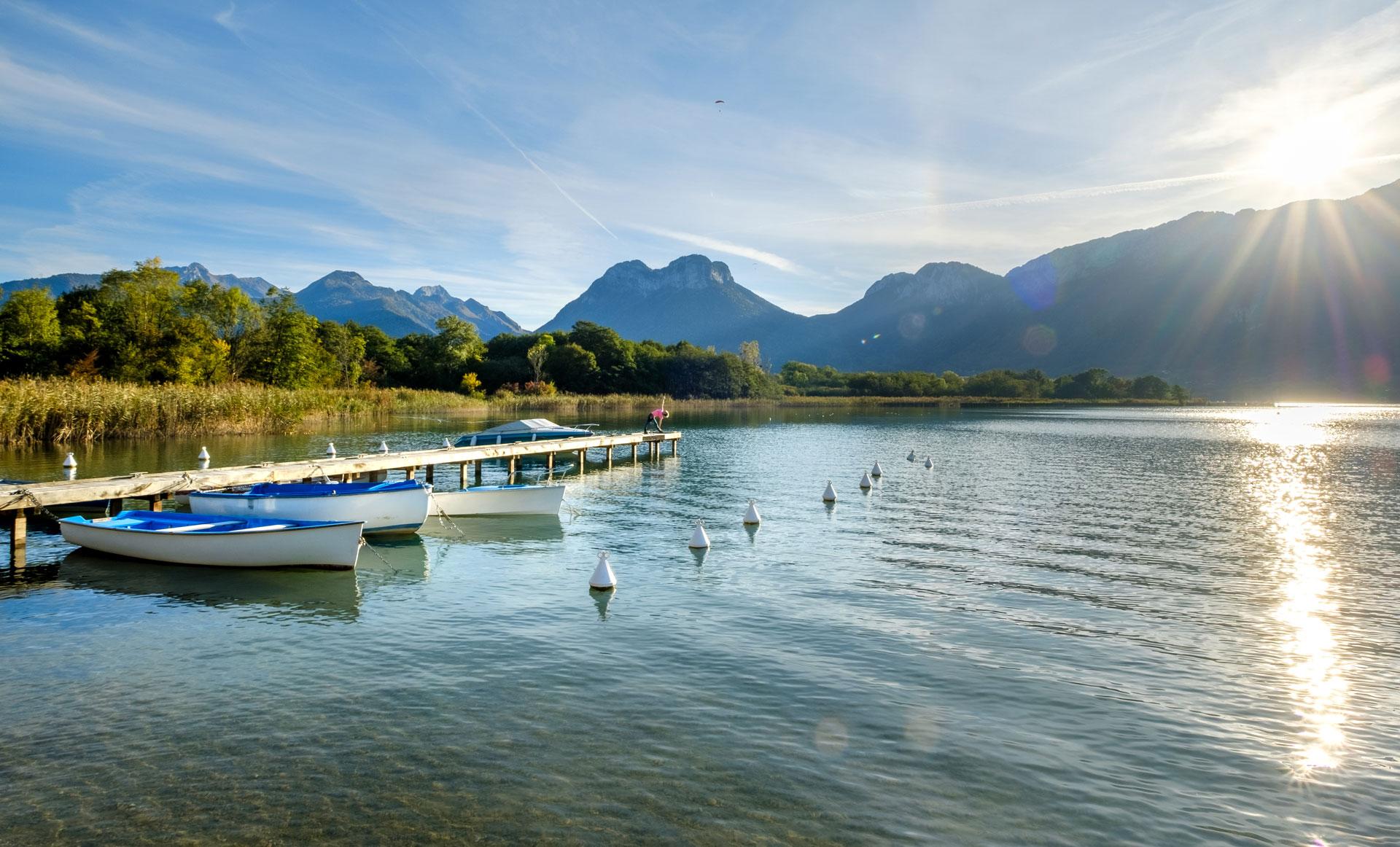Sources du Lac d'Annecy - © Marc Dufournet